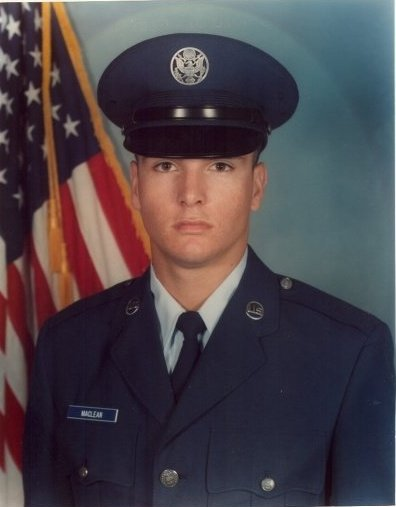 Robert_MacLean, U.S. Air Force, September 1988