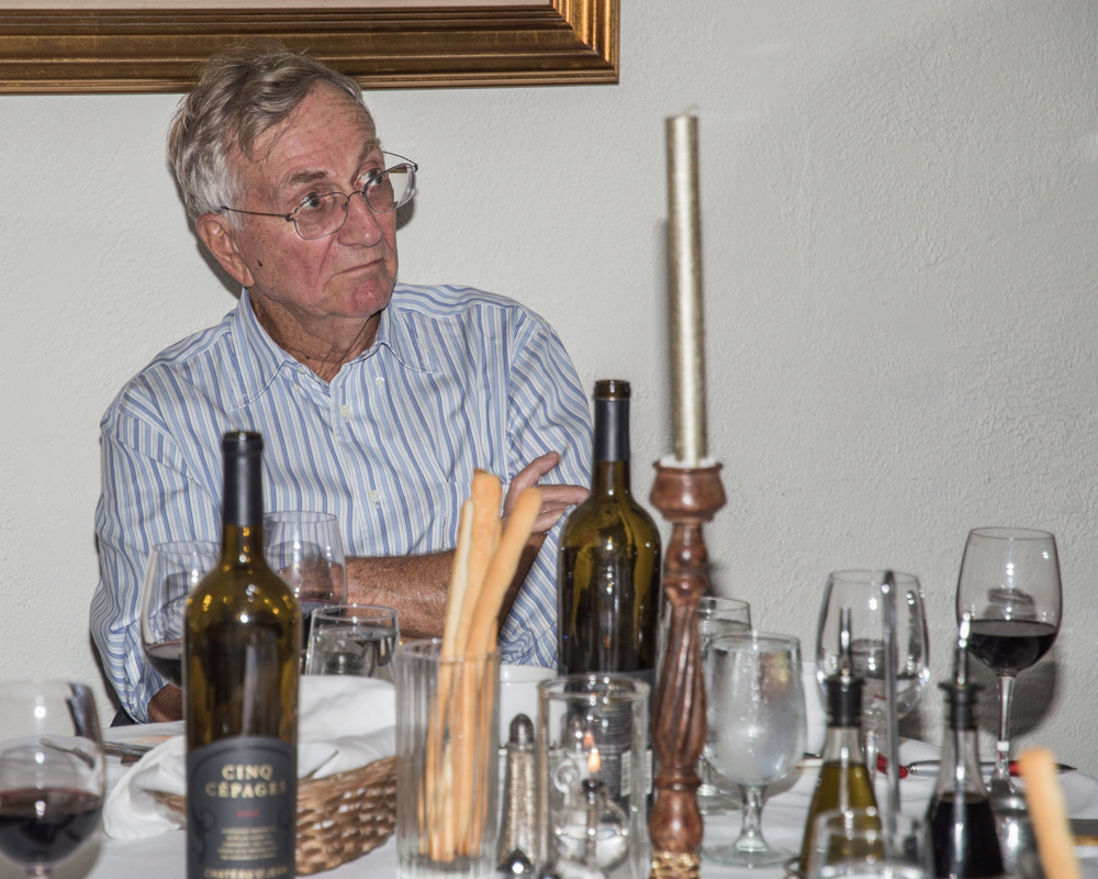 Photo of Seymour Hersh taken September 22, 2017 by Linda Lewis.